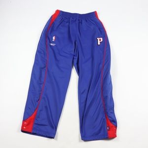 Reebok Mens Large Detroit Pistons Tearaway Pants
